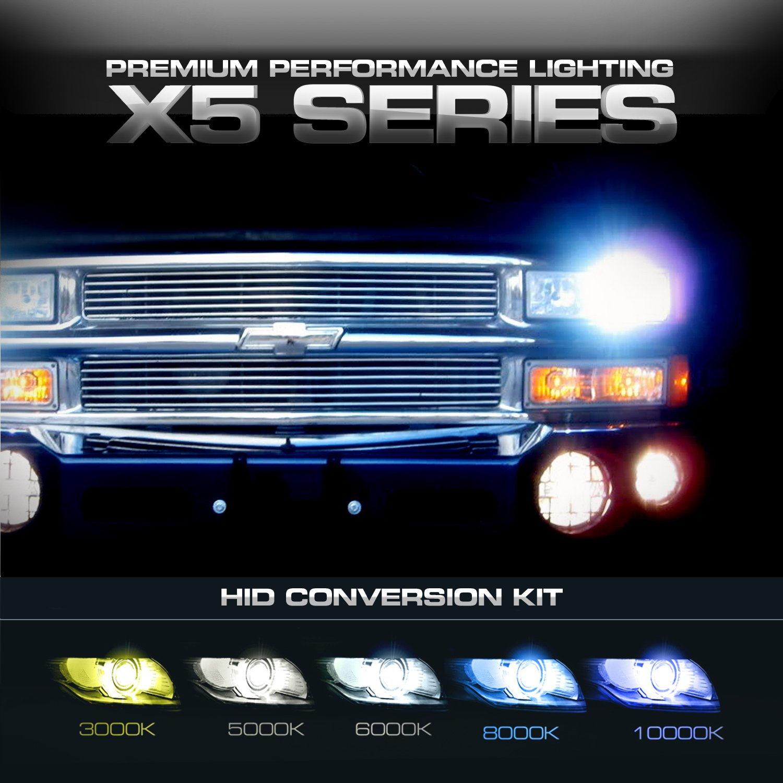 Amazon X5 Series Slim HID Xenon Conversion Kit H4 Low