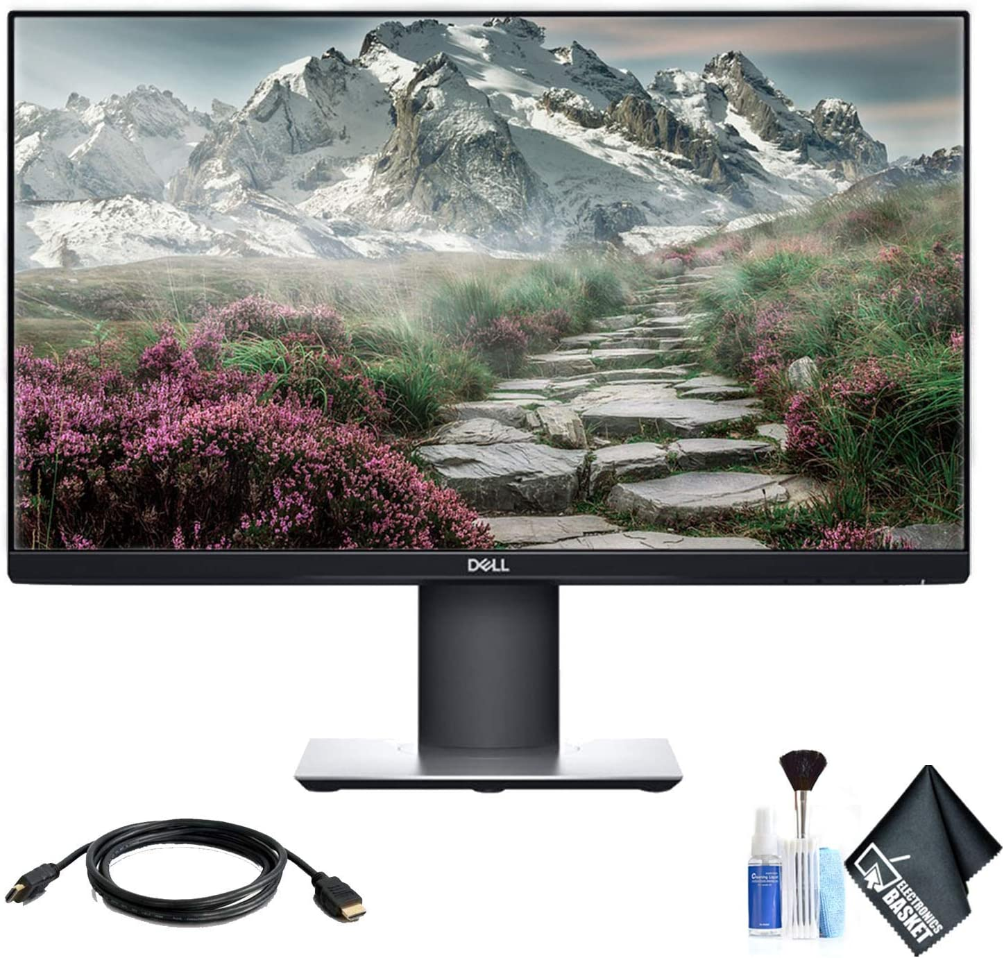 Dell P2319H 23 Inch 16:9 IPS Monitor and HDMI Cable