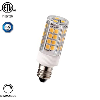 3,5 W (40 W equivalente) regulable. E11 Bombilla LED, etl-listed ...