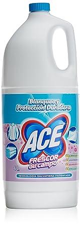 ACE perfumada Frescor del Campo lejía (hogar y ropa) 4 litros ...