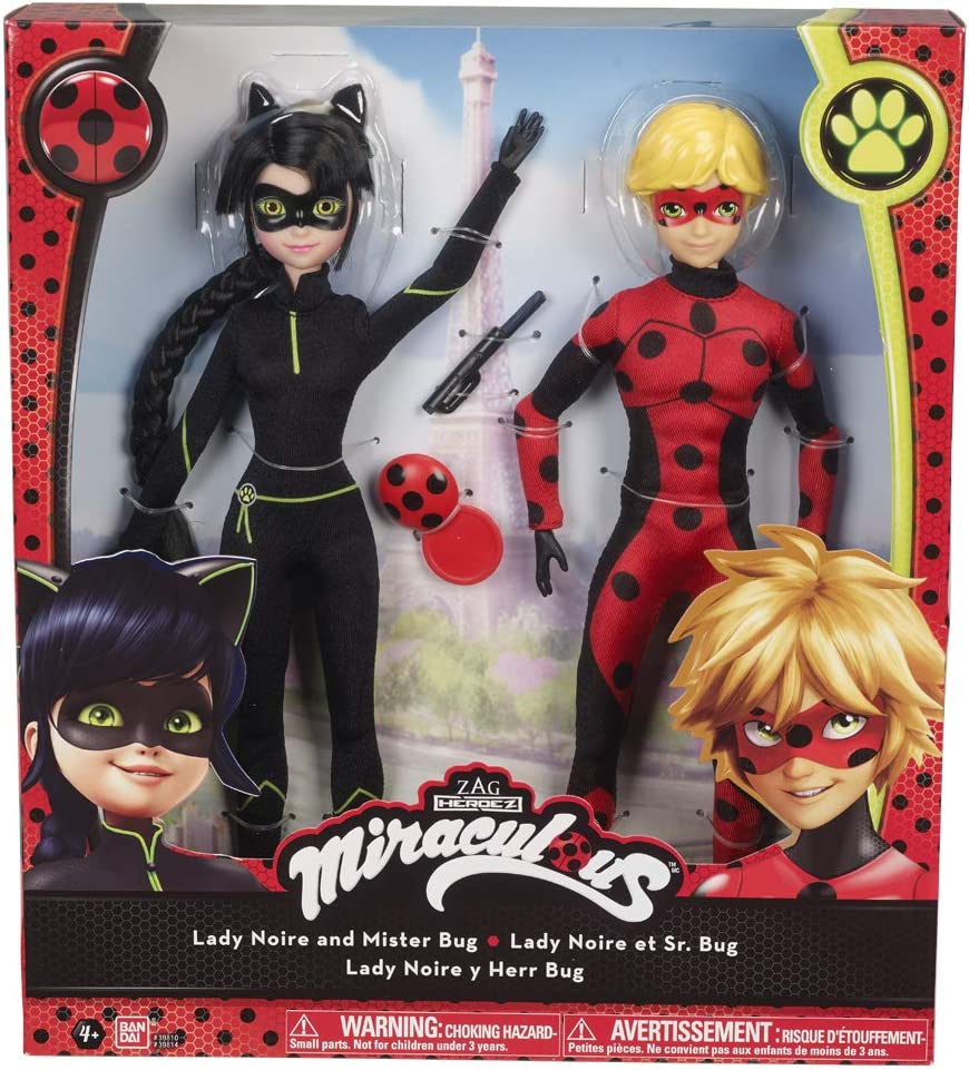 Bandai Zag Heroez Miraculous action doll figure Ladybug 13 cm with accessories