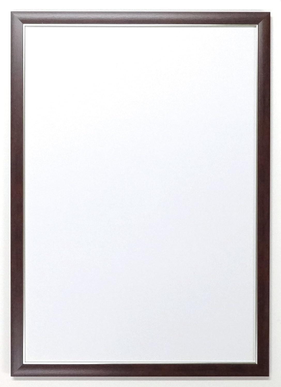 ラモード 用紙フレーム OA-A2(594×420mm)サイズ用額縁 P014 (ブラウン) B00U39XQRM ブラウン ブラウン