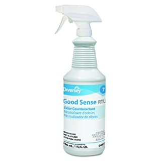 Diversey Good Sense 04337 Liquid Odor Counteractant, Fresh Scent, (32-Ounce, 12-Pack) Spray Bottles