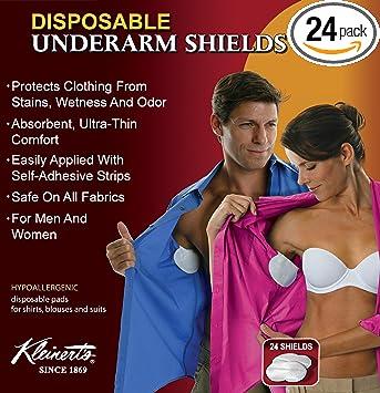 Amazon Kleinerts Underarm Sweat Pads 24 Premium Quality
