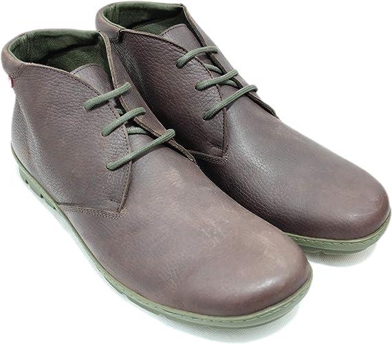 On Foot 9003 Zapatos Abotinados Hombre Juveniles Piel Lisa