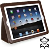 StilGut Executive Case made of genuine leather for the Apple iPad (3rd & 4th generation), Coffee