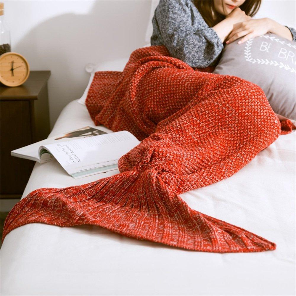 Neify - Meerjungfrau-Schwanz-Decke für Jugendliche / Erwachsene u ...