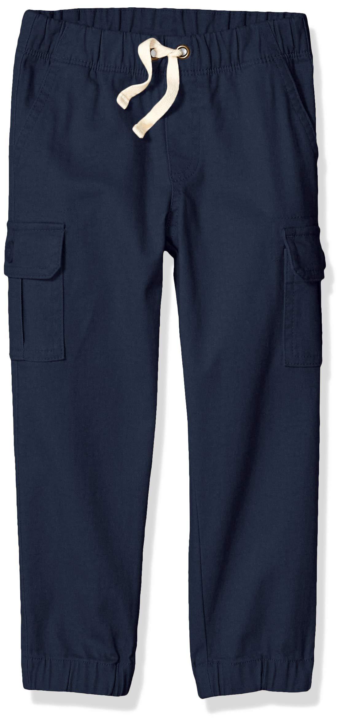 Amazon Essentials Boys' Little Cargo Pants, Navy Blazer, X-Small by Amazon Essentials