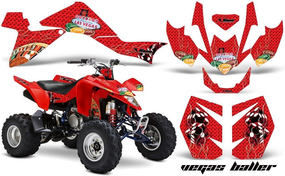 AMR Racing Graphics Kit for ATV Suzuki LTZ 400 2003-2008 STARS AND ...