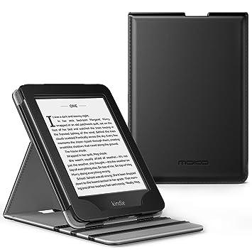 MoKo Kindle Paperwhite E-Reader Funda, Prima Voltear verticalmente Cubierta Smart Cover Case para