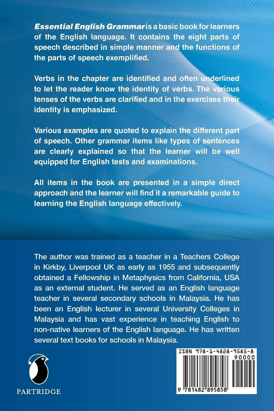 ESSENTIAL ENGLISH GRAMMAR: Amazon co uk: Raju Suppiah: 9781482895858