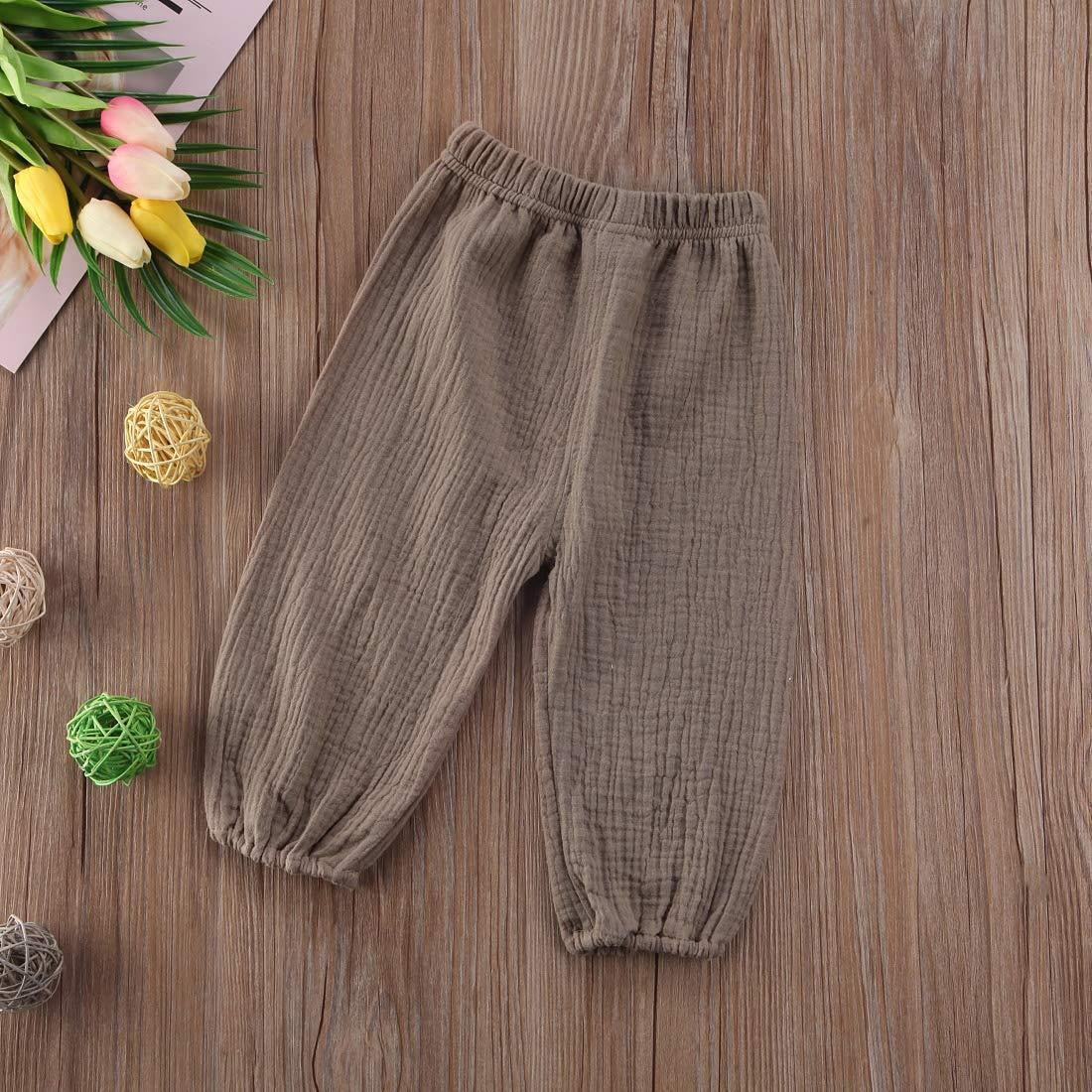 Frecoccialo Unisex Baby Hosen Kinder Jungen M/ädchen Bloomers Pumphose Baumwolle Harem Hosen Fr/ühling Herbst Kleidung