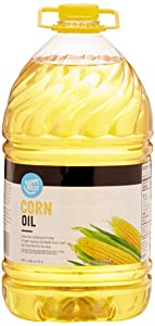 Amazon Brand - Happy Belly Corn Oil, 128 Fl Oz