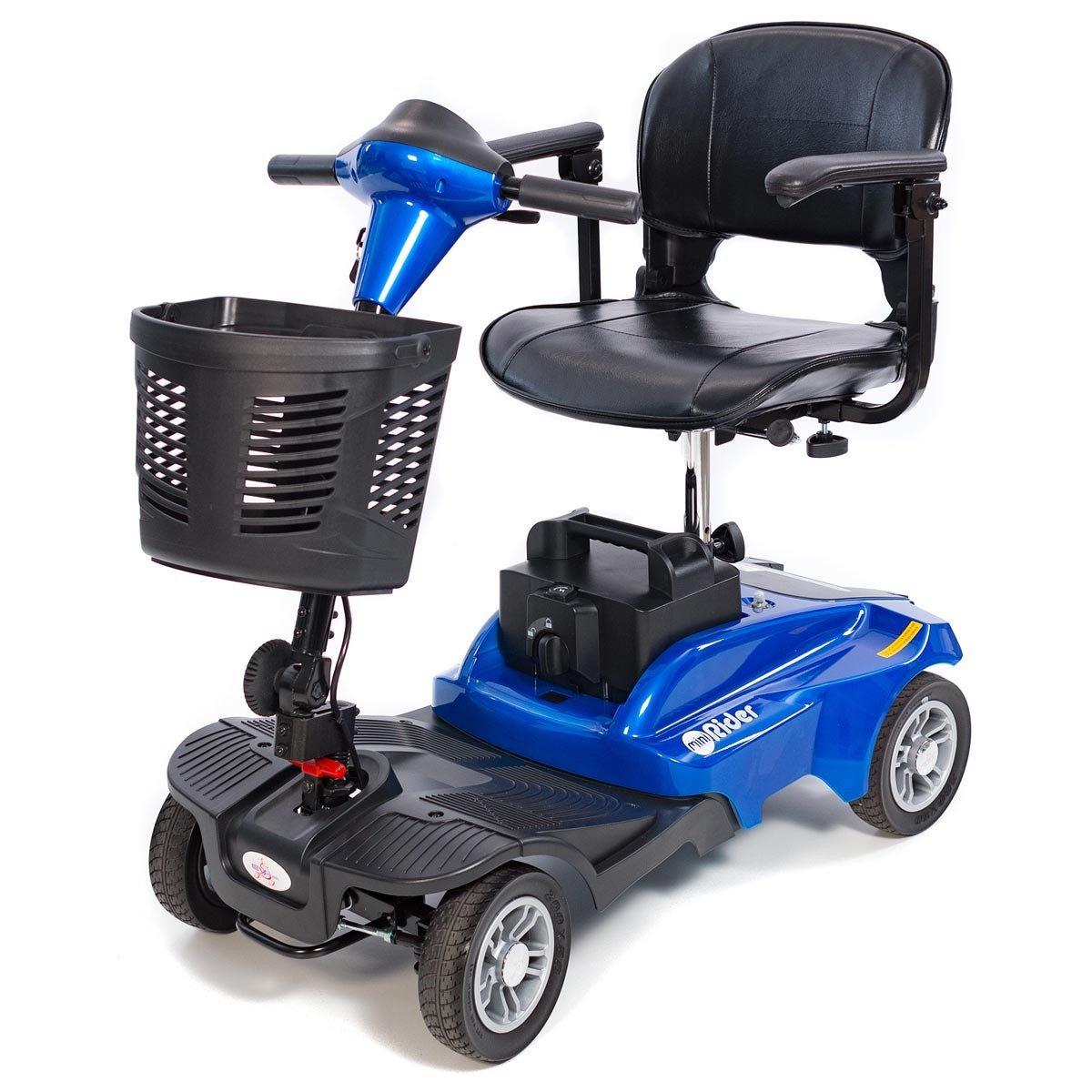 EV Rider - Mini Rider Compact Scooter - 4-Wheel - Metallic Blue by Mini Rider