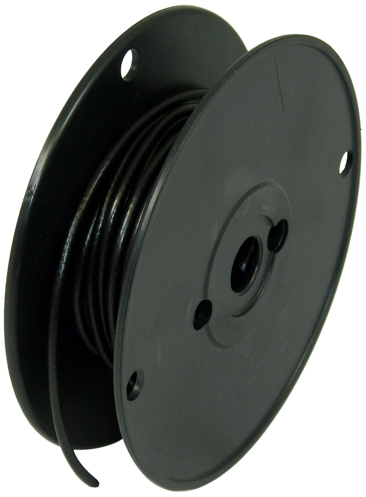 George L's 155 Guage Instrument Cable Roll (Black, 50 Foot)