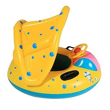 Itian Anillo Con Piscina del Barco Balsa Tubo del Flotador-Sentado, Niño del Bebé, Anillo Lindo Nadadores y Natación para Bebés, para 1-3 Años de Edad: ...