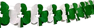 product image for 3-Pack 10 Foot Tissue Paper Shamrock Garlands