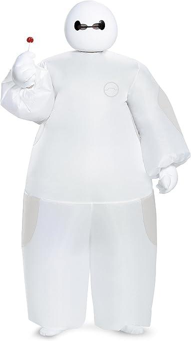 Amazon Com Disney White Baymax Big Hero 6 Inflatable Kids Costume Toys Games