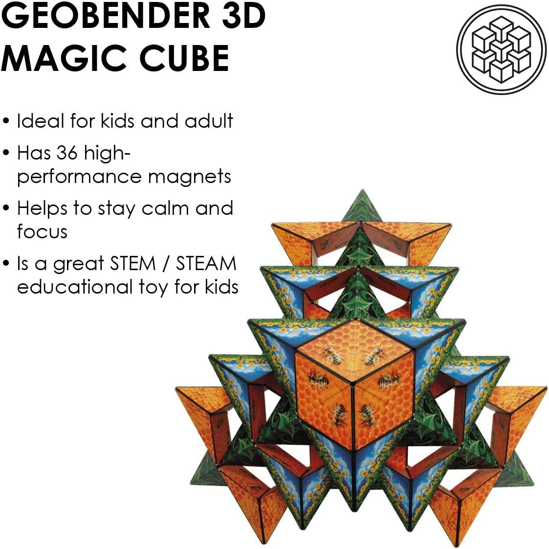 GeoBender GBC-BEES-1ER Bees Cube