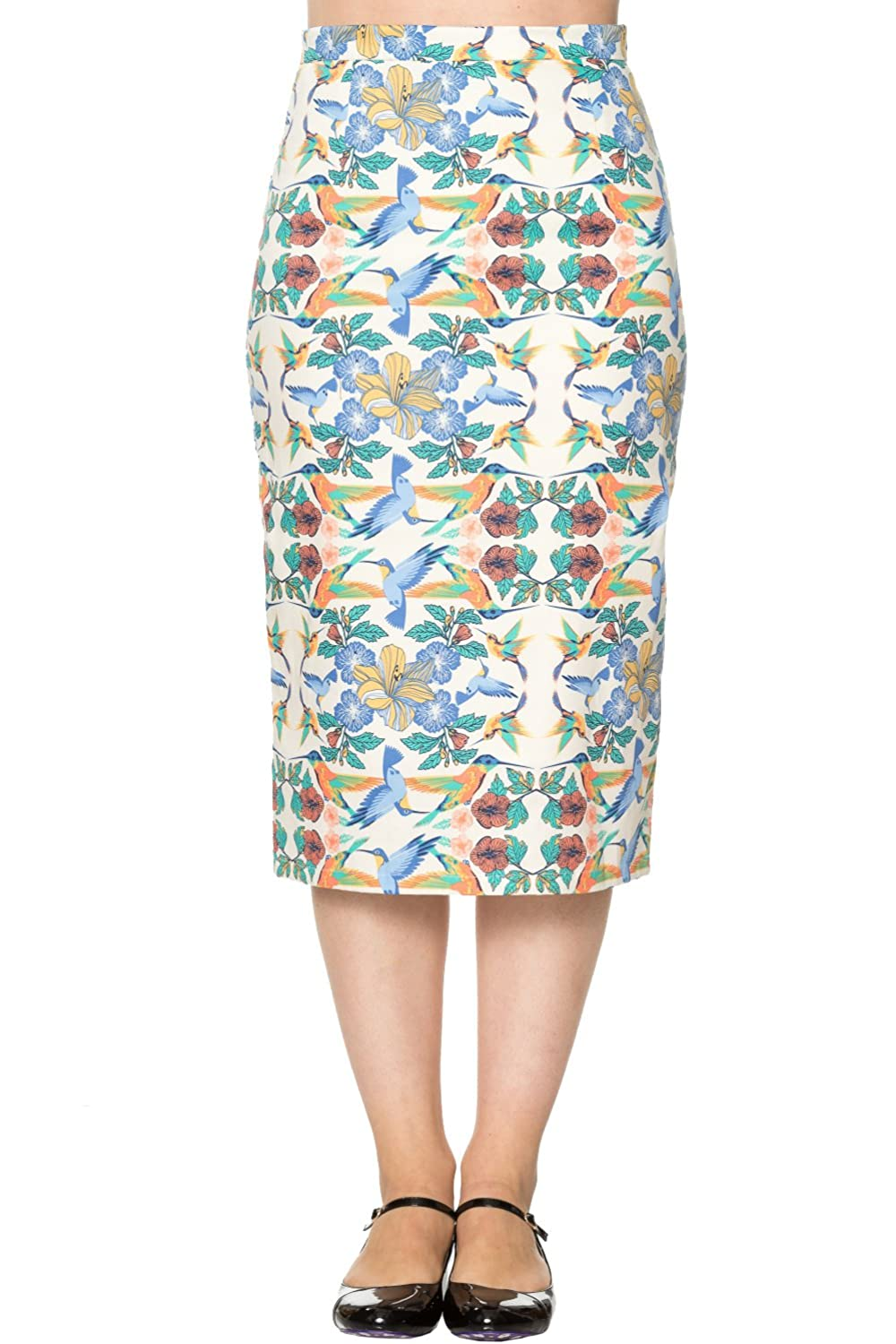 Banned Mandala Vintage Retro Pencil Skirt