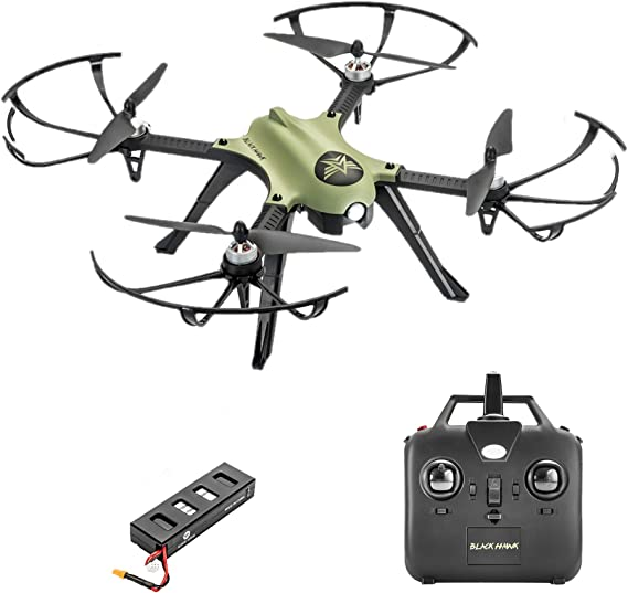 Altair Aerial Blackhawk Long Range & Flight Time Drone w Camera Mount (GoPro Hero3 and Hero 4 Compatible) Extreme Speed & Handling
