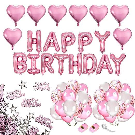iZoeL - Decoración para fiesta de cumpleaños, diseño de niña ...