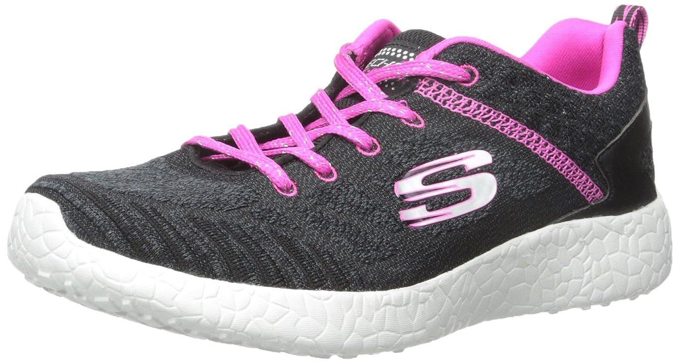 Skechers Kids Burst Ellipse Sneaker 12 M US Little Kid 81905L Bkhp Noir//Rose Fonc/ée Black