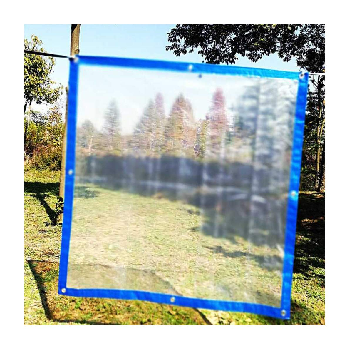 4x4m LIAN La bÂche en Plastique épaisse prougeectrice prougeège la bÂche imperméable Transparente imperméable en Plastique de bÂche en Plastique épaisse (Taille   3x5m)