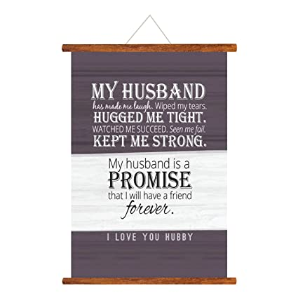 YaYa Cafe Birthday Gifts For Husband My Is Friend Forever Love Scroll Greeting Card