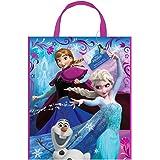 """Large Plastic Disney Frozen Party Bag, 13"""" x 11"""""""