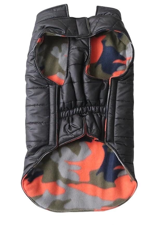 La vogue-cane abrigo deportivo invertnale domesatico animales Sudaderas Busto 76 - 88 cm) negro: Amazon.es: Productos para mascotas