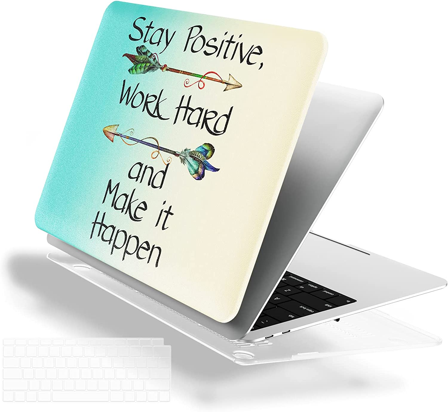 Blue Marble DAPESUOM MacBook Air 13 Inch Case 2020 2019 2018 Release Compatible with A2179 A1932 Retina Display Plastic Hard Shell Keyboard Cover 13 inch MacBook Air Case Marble Mouse Pad