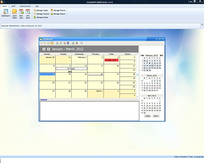 schedulepro project management and scheduling software calendar software windows pcs