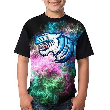 f82e6a6e38a Amazon.com  Boy and Girl Mr Beast Logo Printed T-Shirt Youth Gift ...