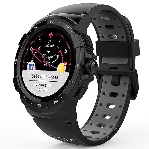Amazon.com: MyKronoz ZeSport2, Multisport GPS Smartwatch, 6 ...