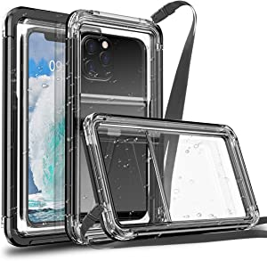 AICase Waterproof Phone Case, Universal Underwater Pouch Holder with Lanyard for iPhone 11 12 Pro Max Xr/Samsung Galaxy S21 S20 S10/Note 20 10 5G/LG Stylo 6, Pixel 4a 4XL 5 3/Moto G Power 2021 G7