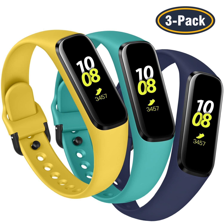 Malla Para Reloj Samsung Galaxy Fit Sm-r375 (3 Unidades)