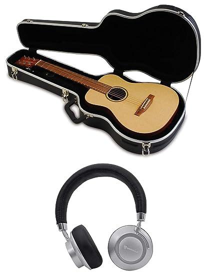 2f0b473870f Amazon.com: SKB 1SKB-300 Mini Acoustic Guitar Hard Case Fits Taylor/Martin  LX+BT Headphones: Musical Instruments