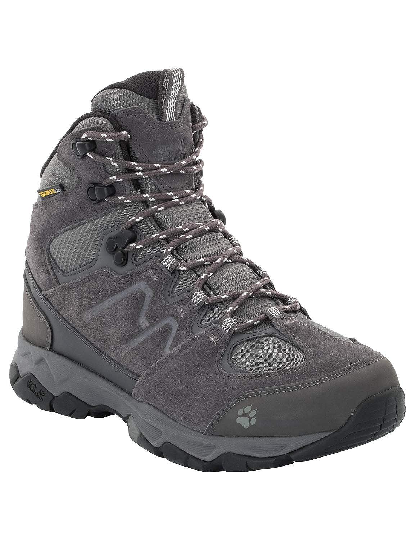gris (gris Haze 4650) 40.5 EU Jack Wolfskin MTN Attack 6 Texapore Mid W, Chaussures de Randonnée Hautes Femme