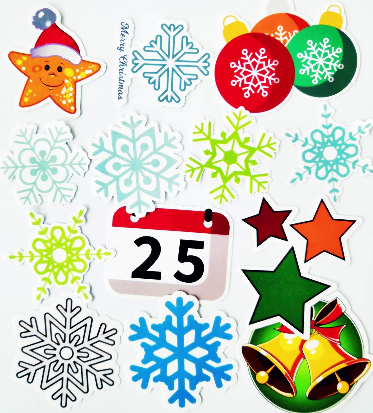 ... Navidad Mejor Vinilo de Las Etiquetas engomadas Pack - para Laptop Tabla De Snowboard Equipaje Maleta Coche de la Bici Pegatina: Amazon.es: Coche y moto