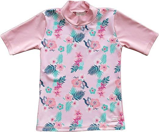 Banz Short Sleeve UV Rash S19rspf8 Camisa, Rosa Floral, 8 Years para Bebés: Amazon.es: Ropa y accesorios