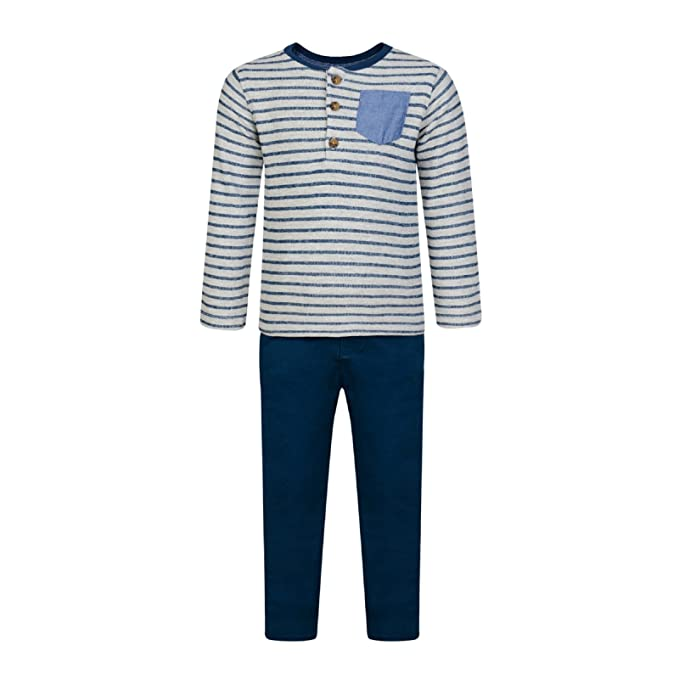 70c2e596ab BOYS SHIRT TROUSER 2PC OUTFIT SET SMART FORMAL PARTY CHINOS & TOP ...