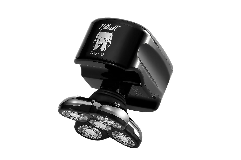 Skull Shaver Pitbull Gold Afeitadora Eléctrica para Hombre para Barba y Cabeza Afeitadora Rotativa Máquina de Afeitar Eléctrica para Cabezas Calvas 851441006614