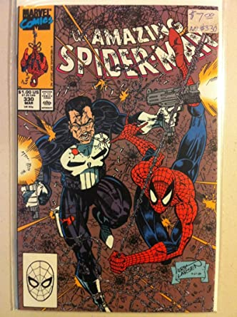 Spiderman #330 Drug Cartel Mar 90 NO MAILING LABEL Near-Mint ...