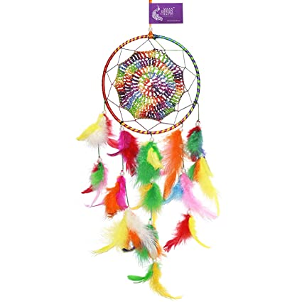 Asian Hobby Crafts Asianhobbycrafts Dream Catcher Wall Hanging : Size (Lxb) 40X15 Cm : Odssey 2.0