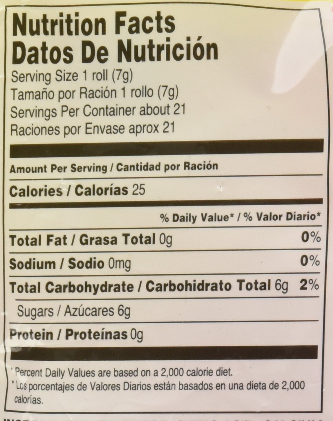Amazon.com : Smarties Original: 5.5 oz (155 g) Bag (Pack of 2) : Grocery & Gourmet Food