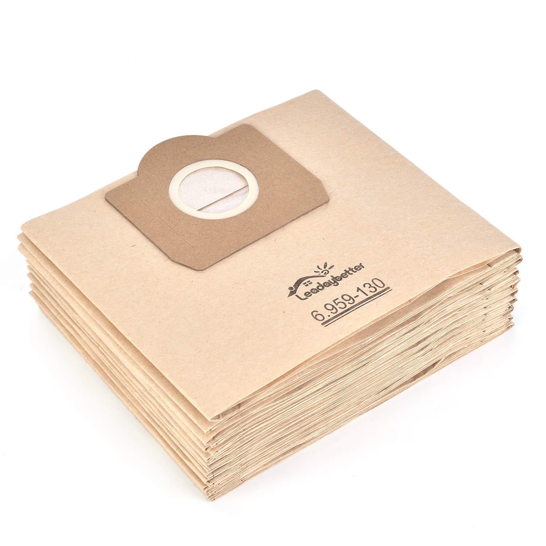 Acquisto sacchetti per aspirapolvere compatibile Karcher 6.959–130.0Sacchetti di carta filtro (10pezzi) a 2201/2204/2504 Prezzo offerta