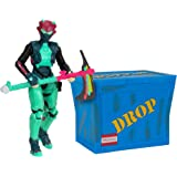 Fortnite Solo Mode Figure & Supply Crate Collectible Accessory Bundle - Feat. 4 Inch Singularity Figure, Supply Crate, Back B