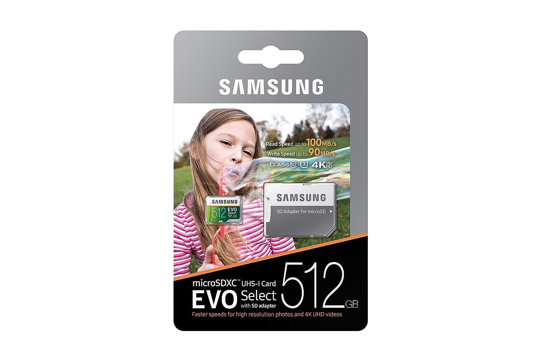 Microsdxc Samsung 512gb 100mb/s (u3)