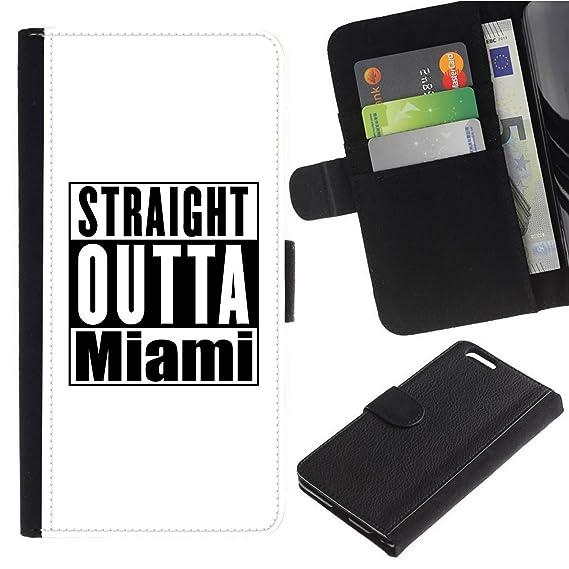 Amazon com: [White - Straight Outta Miami] for Samsung